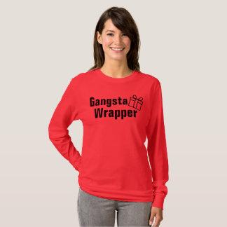 Gangsta Verpackungs-einzigartiges lustiges T-Shirt