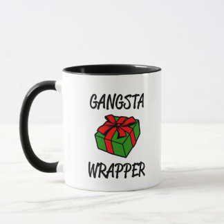 Gangsta Verpackungs-lustige Weihnachtskaffee-Tasse Tasse