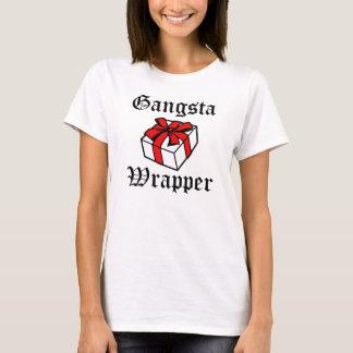 Gangsta Verpackungs-lustiges Weihnachten T-Shirt