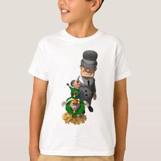 Gangster rüttelt hinunter einen Kobold T-Shirt