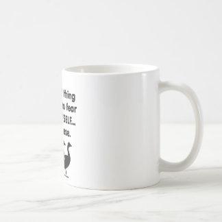 Gänse der Furcht-selbst Kaffeetasse
