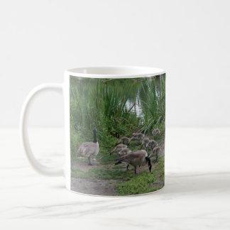 Gänse und Gänschen-Tasse Kaffeetasse