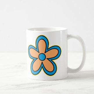 Gänseblümchen-Alter Kaffeetasse