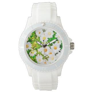Gänseblümchen Armbanduhr