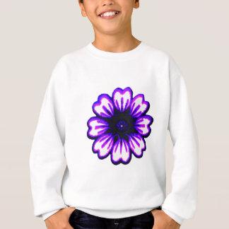 Gänseblümchen blaues lila transp die MUSEUM Zazzle Sweatshirt