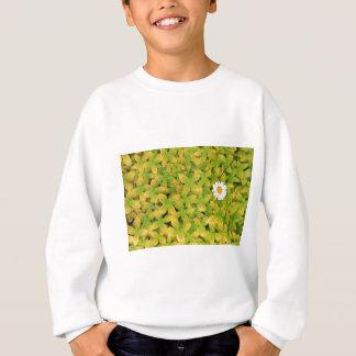 Gänseblümchen-Blume, die für den Sun erreicht Sweatshirt