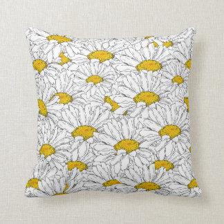 Gänseblümchen-Blume Kissen