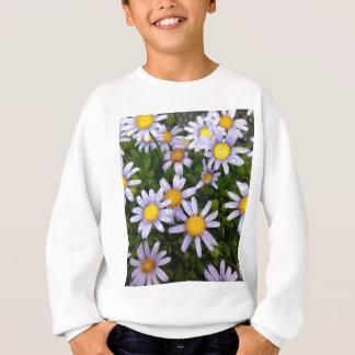 Gänseblümchen-Blumen, weiße gelbe Blume, Sweatshirt