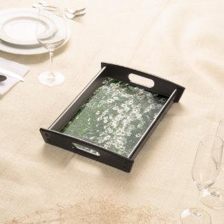 Gänseblümchen-Blumenbehälter Tablett