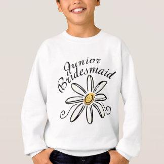 Gänseblümchen-Blumenjr.-Brautjungfer Sweatshirt
