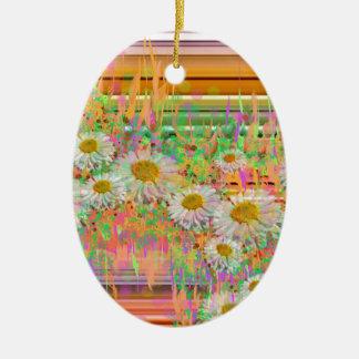 Gänseblümchen Cascade.JPG Keramik Ornament