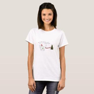 Gänseblümchen der Damen-WeihnachtenT - Shirt Shih