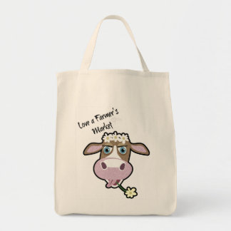 Gänseblümchen, die Kuh, Markt-EinkaufsTasche Einkaufstasche