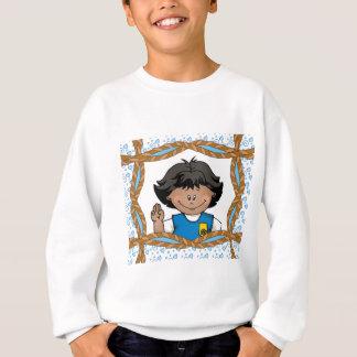 Gänseblümchen-Dunkelheits-Haut Sweatshirt