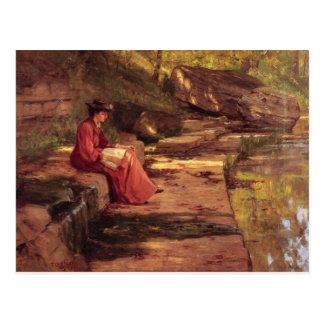 Gänseblümchen durch den Fluss durch Theodore Postkarte