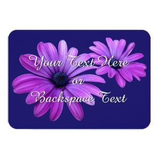 Gänseblümchen-Einladungs-personalisierte 8,9 X 12,7 Cm Einladungskarte