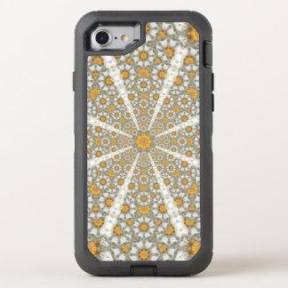 Gänseblümchen fängt Mandala auf OtterBox Defender iPhone 8/7 Hülle