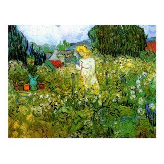 Gänseblümchen Gachet im Garten durch Van Gogh Postkarte