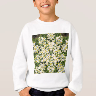 Gänseblümchen-Garten Sweatshirt