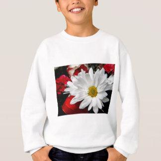 Gänseblümchen-Gesicht Sweatshirt