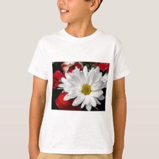 Gänseblümchen-Gesicht T-Shirt
