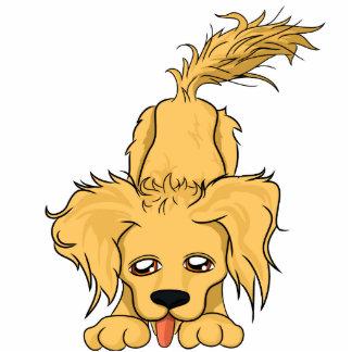 Gänseblümchen-Hund Fotoausschnitte