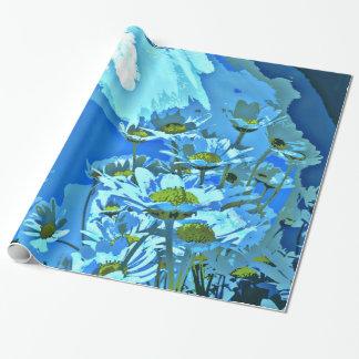 Gänseblümchen im Wasser Geschenkpapier