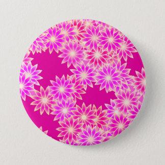 Gänseblümchen in den Schatten des Rosas und der Runder Button 7,6 Cm
