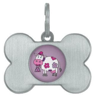 Gänseblümchen-Kuh Tiermarke