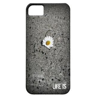 "Gänseblümchen ""Leben ist"" iPhone Se + iPhone 5/5S iPhone 5 Cover"