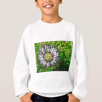 Gänseblümchen-Quadrate Sweatshirt