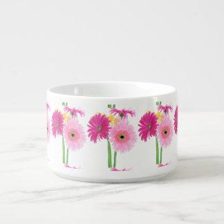 Gänseblümchen-Rosa Kleine Suppentasse