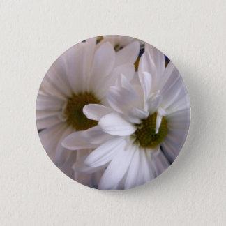 Gänseblümchen Runder Button 5,7 Cm