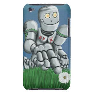Gänseblümchen-Sammeln-Roboter iPod Case-Mate Hüllen