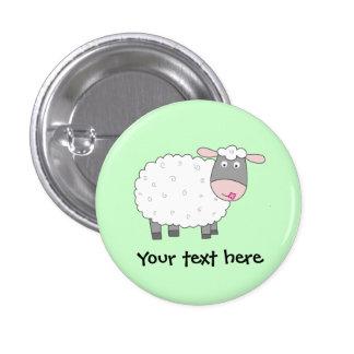 Gänseblümchen-Schafe Anstecknadelbuttons