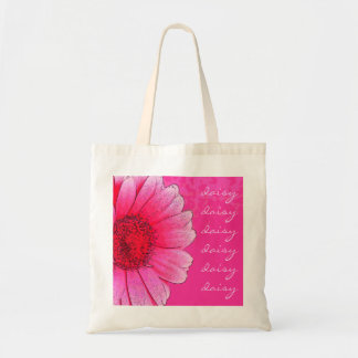 Gänseblümchen-Taschen-Tasche Budget Stoffbeutel
