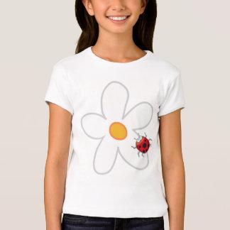 Gänseblümchen-u. Marienkäfer-Spaß-niedlicher süßer T-Shirt