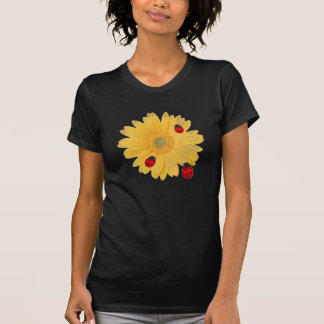 Gänseblümchen und Marienkäfer Hemd