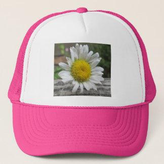 Gänseblümchen verwitterte Blume Truckerkappe