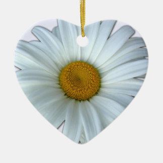 Gänseblümchen-Verzierungs-personalisierte Keramik Ornament