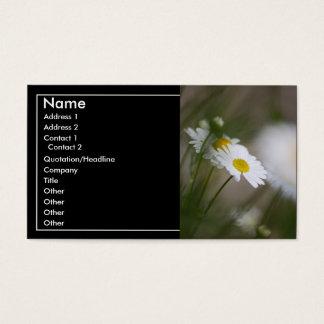 Gänseblümchen Visitenkarte
