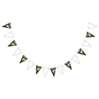 Gänseblümchenhochzeits-Themaflagge Wimpelketten