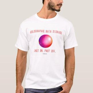 Ganz eigenhändig geschrieber Daten-Speicher. Phot T-Shirt