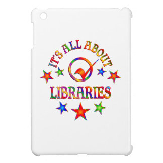 Ganz über Bibliotheken iPad Mini Hülle