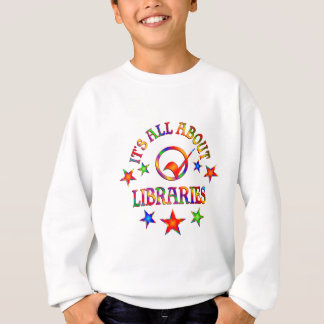 Ganz über Bibliotheken Sweatshirt