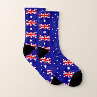 Ganz über Druck-Socken mit Flagge von Australien Socken