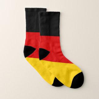 Ganz über Druck-Socken mit Flagge von Deutschland Socken