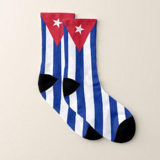 Ganz über Druck-Socken mit Flagge von Kuba Socken
