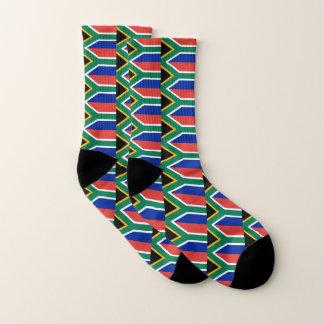 Ganz über Druck-Socken mit Flagge von Südafrika Socken