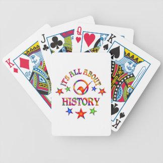 Ganz über Geschichte Bicycle Spielkarten